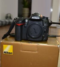 Nikon D7000 DSLR BODY ONLY, BOXED, Shutter 1618! (1% USAGE)  AS NEW, UNUSED.