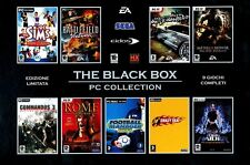 THE BLACK BOX PC COLLECTION - 9 GIOCHI (SIMS BATTLEFIELD TOMB RAIDER NFS MOH...)