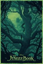 The Jungle Book Disney Mondo Alternative Movie Poster by Daniel Danger No. /660
