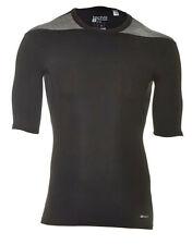 Adidas Techfit Base SS Shortsleevle T-Shirt Funktionsunterwäsche Gr. M  schwarz