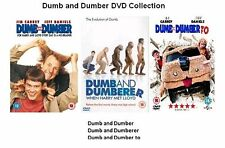 DUMB AND DUMBER DUMBERER TO TRILOGY PART 1 2 3 BRAND NEW AND SEALED UK R2 DVD
