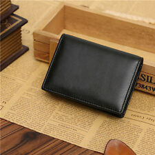 Men's Genuine Leather Wallet Bifold ID Credit Card Holder Purse Money Clip New