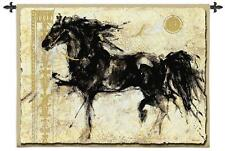 """Lepa Zena Abstract Tapestry Wall Hanging Horse Animal 53""""x45"""""""