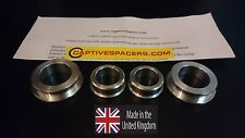 CBR600RR  2007- 2016 Captive race wheel Spacers. Full set. 100% UK made.
