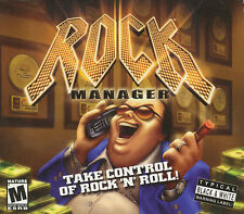 ROCK MANAGER Tycoon Type Rock n Roll Music Game NEW BOX