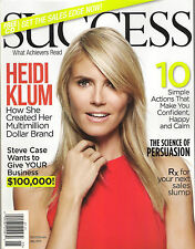 SUCCESS May 2015 HEIDI KLUM Wow Your Customer +Free How to Sell Sales Selling CD