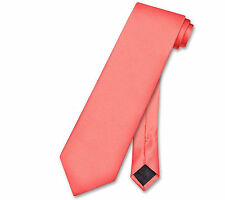 Formal 3 Inches Wide New Men Coral Self Tie Neck tie Tie Only Party Wedding Prom