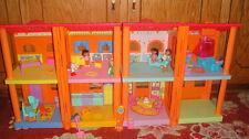 RARE DORA THE EXPLORER MAGICAL WELCOME HOME HOUSE DOLLHOUSE W ACC