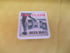 THE CLASH HITS BACK ALBUM COVER    BADGE PIN
