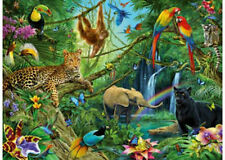 Ravensburger 200 XXL Piece Animals In The Jungle Jigsaw Puzzle