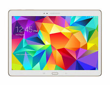 Samsung Galaxy Tab S 10.5 sm-t805 LTE 16gb Tablet PC Bianco Nuovo OVP