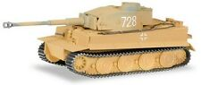 "Char Tigre (Tiger) version hybride Wehrmacht ""sable"" - Herpa - Scale 1/87 (HO)"