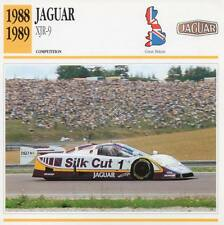 1988-1989 JAGUAR XJR-9 Racing Classic Car Photo/Info Maxi Card