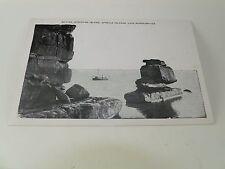 Vintage Postcard Sphynx Stockton Isle Apostle Isle's Lake Superior Mi A6