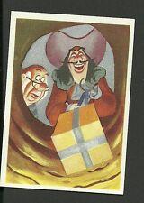 Walt Disney Peter Pan Vintage Card From Belgium #110 Captain Hook & Smee
