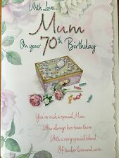 70th Birthday Card For Mum