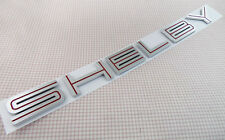 Auto Red silver SHELBY GT500 for 07-09 MUSTANG GT500 Cobra Emblem Badge Sticker