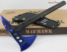 United M48 Blue Hawk Tactical Fighting Survival Hatchet/Knife/Axe/Tomahawk
