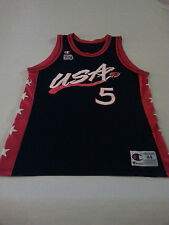 DUKE CHAMPION USA DREAM TEAM GRANT HILL OLYMPIC JERSEY SIZE 44 polyester PISTONS