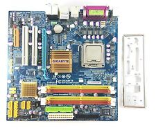 GIGABYTE GA-G33M-DS2R  LGA 775/Socket T, Intel Motherboard + CPU Dual Core