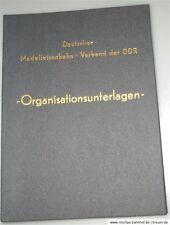 Allemand Maquette de train Pansement de la RDA Documents de l'organisation Stand