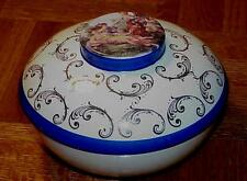 """NUT DISH BOWL HAMPTON SCENIC """"NUTS TO YOU"""" VICTORIAN ANTIQUE"""