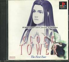 USED PS1 Clock Tower The First Fear Playstation Japan Import