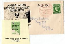 Australia 1955 ANPEX Cover with Cinderella x 2 Special Cancel X3964