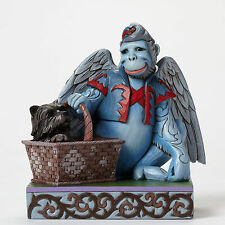Jim Shore Wizard of Oz Winged Monkey w/ Toto in Basket Figurine 4046424 Captured