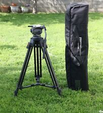 Cartoni Focus Fluid Head Video Tripod W/ Legs