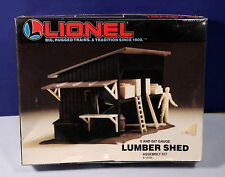 Lionel O / 027 Scale Lumber Shed Assembly Kit - New in Sealed Box 6-12705