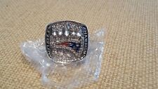 *******SALE****** NEW ENGLAND PATRIOTS SILVER 5TH CHAMPIONSHIP RING