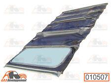 CAPOTE noire NEUVE (SOFT TOP) à fermeture intérieur pour Citroen 2CV  -10507-