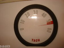 Tachometer Lens,  Inner 6000 RPM With Numbers.  New.  58 Corvette
