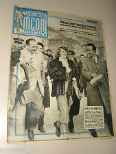 INCOM 1951/10=RITA HAYWORTH COVER MAGAZINE IN NAPOLI NAPLES=