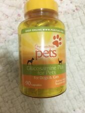 GLUCOSAMINE PLUS FOR PETS DOGS CATS JOINT PAIN ARTHRITIS RELIEF PILLS 90 CAPSULE