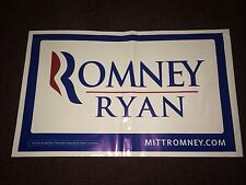 Mitt Romney Paul Ryan 2012 Republican President Campaign All Weather Yard Sign
