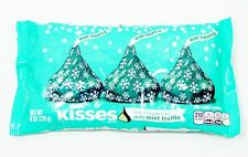 8 0z Hershey's Kisses MINT TRUFFLE Dark Chocolate With Truffle Center