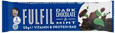 15 X FULFIL Dark Chocolate & Mint Vitamin & Protein Bars Great Taste!Best Value!