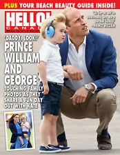 Hello Canada Magazine Exclusive Prince William & George #511 July 2016 Brand New