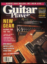 Guitar Player Magazine May 1991 Hendrix Bob Marley Dweezil Zappa Van Halen ***9