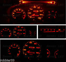 Honda Civic EK  96-98 Gauge Cluster Climate Control LED KIT (RED)