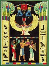 Bucilla EGYPTIAN LAND OF THE PHARAOHS Counted Cross Stitch Kit w/Beads 1996 Rare
