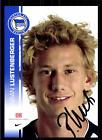 Fabian Lustenberger Autogrammkarte Hertha BSC Berlin 2007-08 Original + A 120926