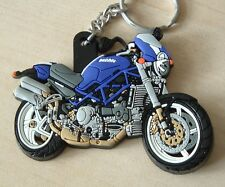 DUCATI CORSE S4R S4 S4RS MONSTER RUBBER KEYRING VERY RARE, DON'T SEE THESE OFTEN