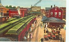 C.B.&Q. DEPOT-AURORA, ILLINOIS-1908-REPRODUCTION-(AV3159)