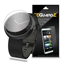 4X EZguardz LCD Screen Protector Cover HD 4X For Motorola Moto 360 Smartwatch