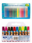 30 Washable Brush Markers or 10 Disney Frozen Chunky Painting Drawing Kids Pen