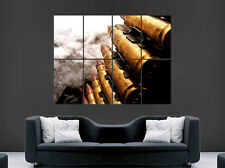 BULLETS AMMO GUNSA WEAPONS  POSTER ARMY MILATARY ART PICTURE PRINT LARGE