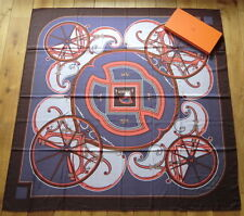 "Original HERMES Cashmere/Silk Tuch/Foulard/Scarf ""WASHINGTON'S CARRIAGE"", 2010/1"